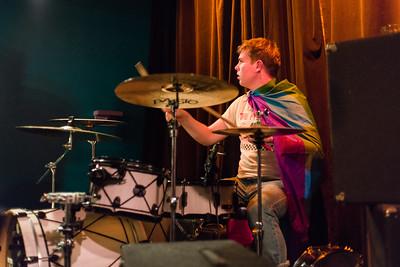 Robbie the drummer.