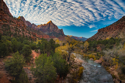 Sunset, Zion National Park