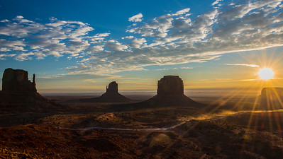 Sunrise # 2, Monument Valley, UT
