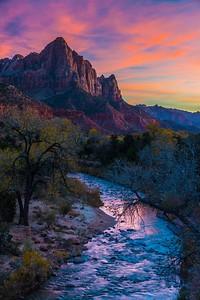 Sunset # 2, Zion National Park
