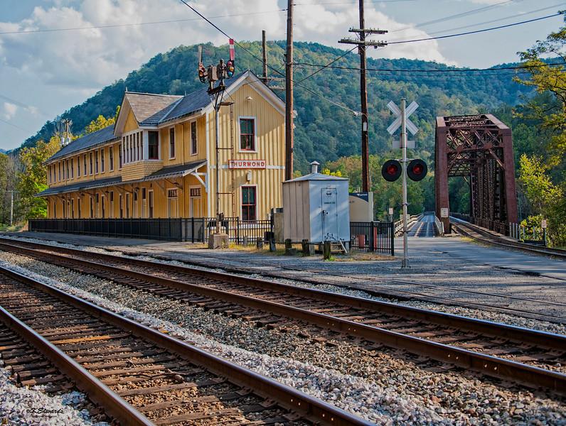 RR Depot in Thurmond