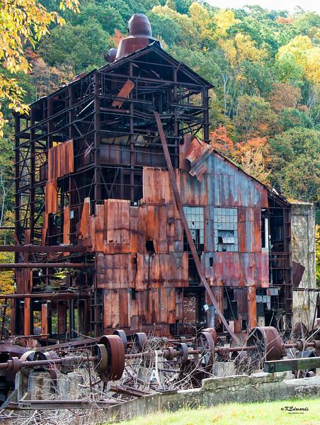 Saw mill boiler in Cass