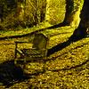 empty seat at night