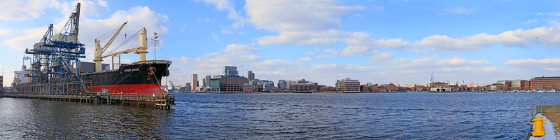 Baltimore Panoramic from Tides Point