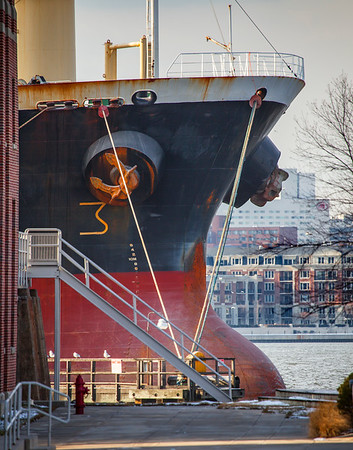 Ship Bow - Tides Point - Baltimore Maryland