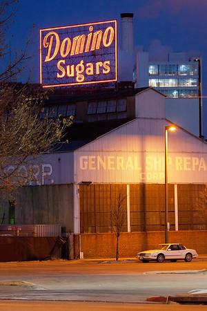 Domino Sugar Sign - Baltimore Maryland