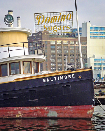 Baltimore Tugboat at Domino Sugar