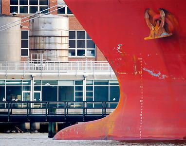Ship Bow at Tides Point