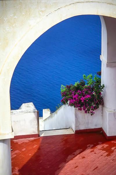 Open Terrace, Santorini