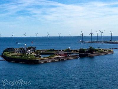 Man Made Island and Power Generators Copenhagen