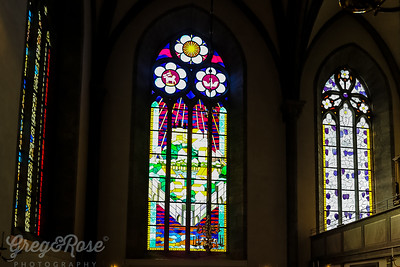Stained Glass of Visby Cathedral;l