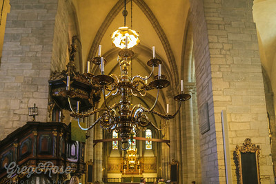 Pulpit and Candelabra