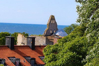 Up the Hill Overlooking Visby