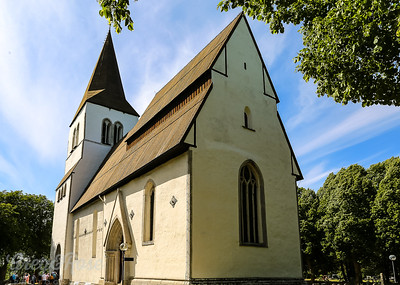 Church in Eskelhem Gotland