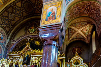 Elaborate internal Finishing of Uspenski Cathedral