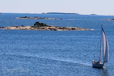 Sailing craft close to Helsinki