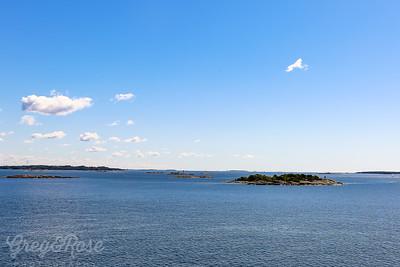Lots of Islands near  Helsinki