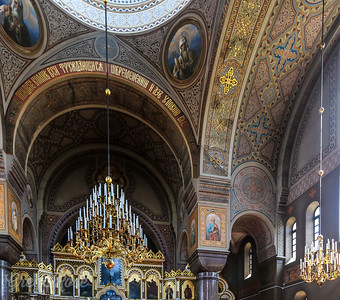 Mosaic and painted Ceilings of Uspenski Cathedral