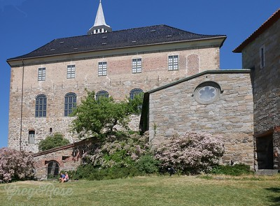 Akershus Fortress Oslo residential block