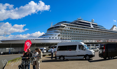 The Cruise Boat Port at St Petersburg