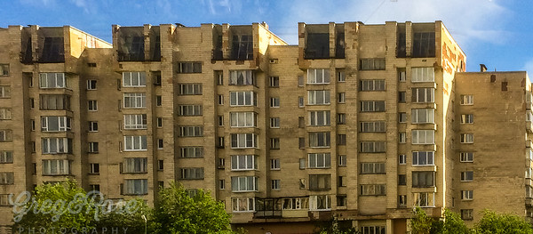 Typical Housing in St Petersburg