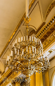 Beautiful gilded Chandelier