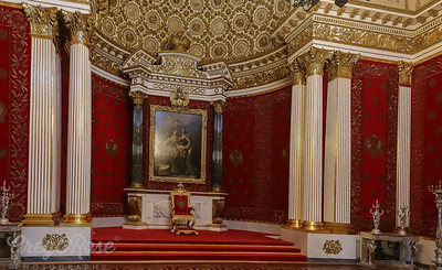 An example of the Tzar's throne room
