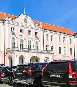 Entrance to Toompea Castle, Tallinn Estonia
