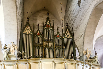 Organ of St Mary's cathedral, Tallinn Estonia