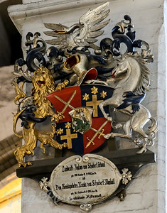 Another Coat of Arms form St mary's Cathedral
