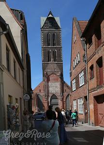 Street View of St Marks in Wismar