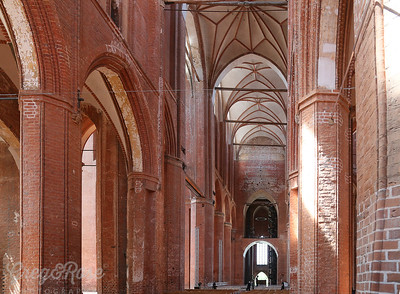 The remediated Interior of St Georgen
