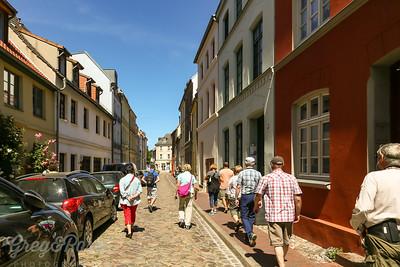 Street scene Wismar