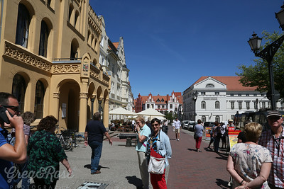 Wismar a beautiful Northern German Medieval Town