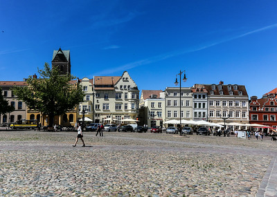 Wismar a Medieval Town in Northern Germany