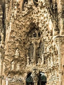 Amazing Art Abounds at Sagrada Familia