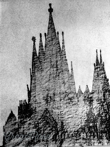 Gaudi's concept of the Basilica