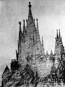 Gaudi's concept of the Basilica