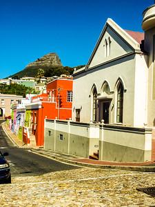 A Dutch Reform Church and Cape Dutch Homes