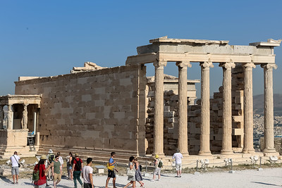 The easter Colonade of the Erechtheion