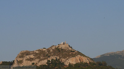 Closer View of Mount Lycabettus