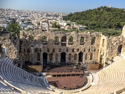Acropolis Amphitheatre-Odeon of Herodes Atticus or Herodeon