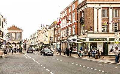 Street scene in Windsor