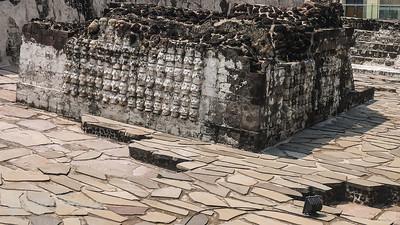 Skull emblazoned Altar at Templor Mayor