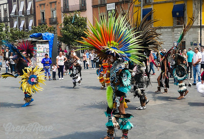 Dance replication of the Ancient Aztec