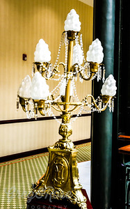 Lamp Stand in the Gran Hotel