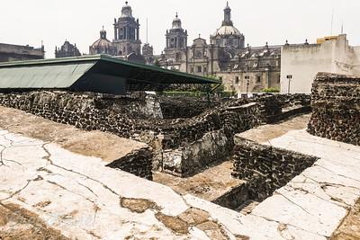 A veiw of this ancient cityTemplor Mayor