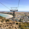 Chairlift at  the  the Nut  at Stanley, Tasmania