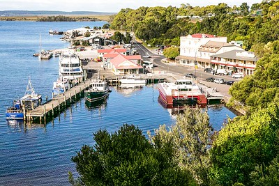 Strahan Harbour area
