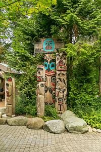 Kia'palano (Capilano) Totem Poles